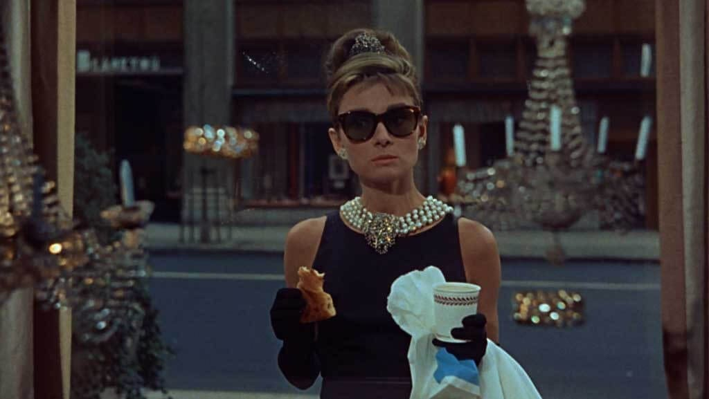 Audrey Hepbern Breakfast at Tiffany's
