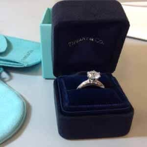 tiffany wedding rings for sale