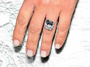 Kim Kardashians engagement ring