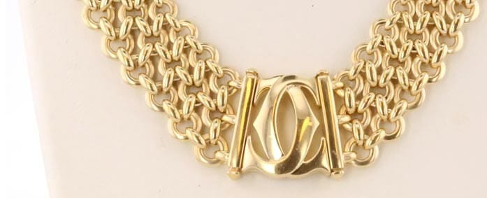 Cartier 18kt gold necklace
