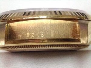 Genuine Rolex serial number