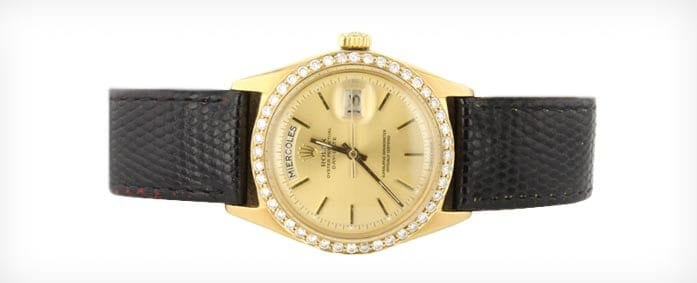 Gold and Diamond Rolex Day Date 1803