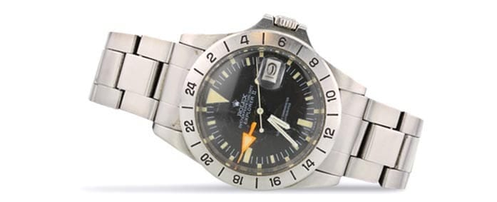 Rolex Explorer II Steve Mcqueen watch