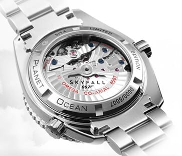 007's Omega Seamaster Planet Ocean 600M Skyfall Limited Edition