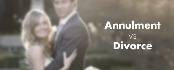 annulment vs divorce what s the difference