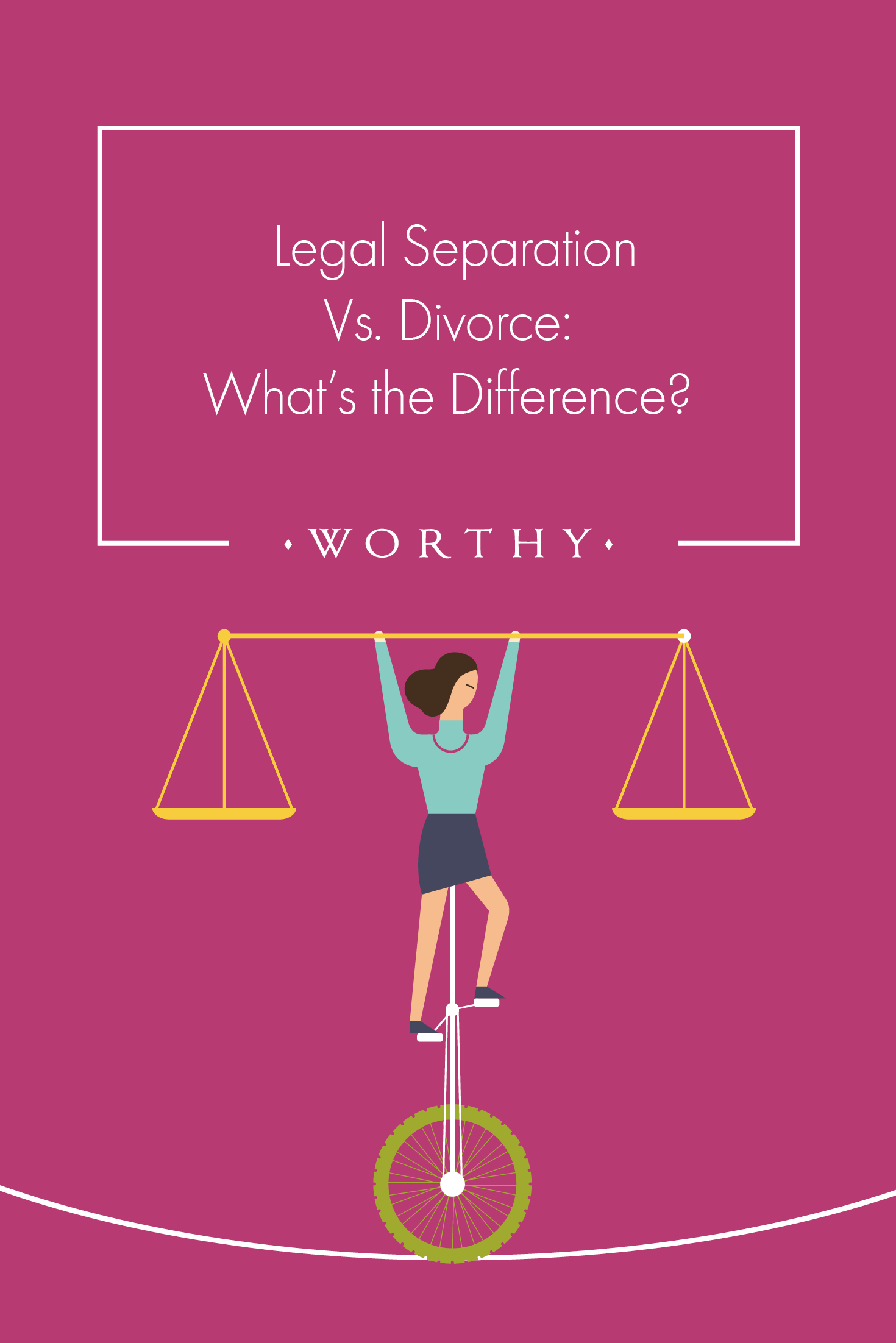 The idea of legal separation sounds simple at first, but there are a few more significant distinctions to be made about legal separation vs divorce.