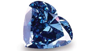 Blue Heart of Eternity Diamond