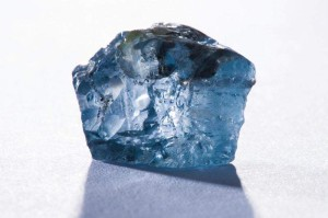Rough Blue Moon Diamond