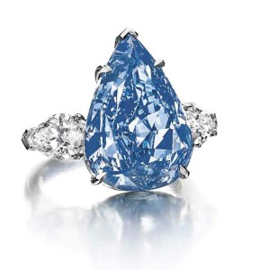 The Winston Blue Courtesy of Christie's