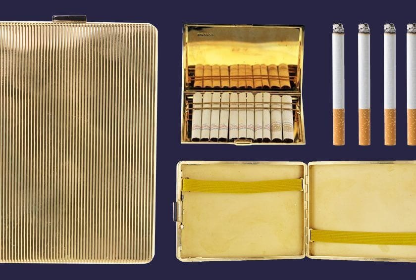 The Cigarette Case: Then and Now
