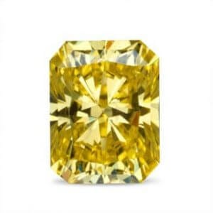 Aurora color yellow diamond