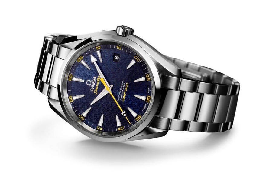 Modern day Omega Seamaster Aqua Terra 150M James Bond. © Omega.
