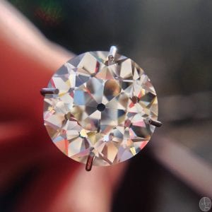 3.22 CT Old European Cut Diamond from Jewels By Grace.