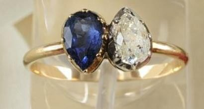 The engagement ring that Napoleon gave Josephine in 1796 sold for more than $1 million in 2013.