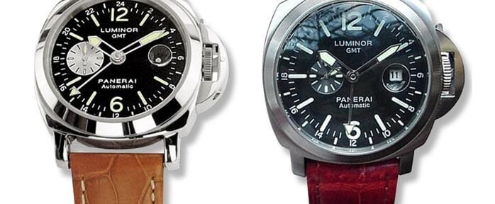 Genuine vs. fake Panerai Luminar