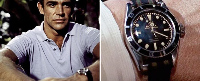 """Dr. No"", The Legendary James Bond Rolex 6538 Auctioned At Worthy For $60,000"