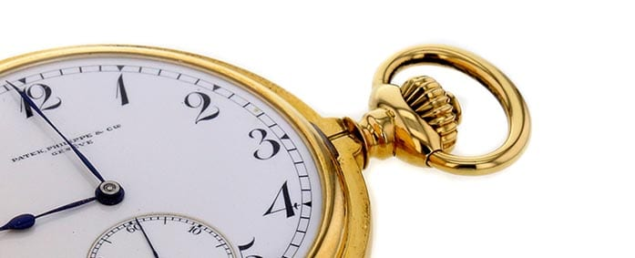 1960s Patek Philippe Pocket Watch Grabs Attention at Auction