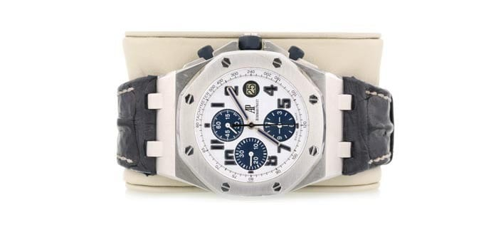 Audemars Piguet watch sold at Worthy for $12,900.