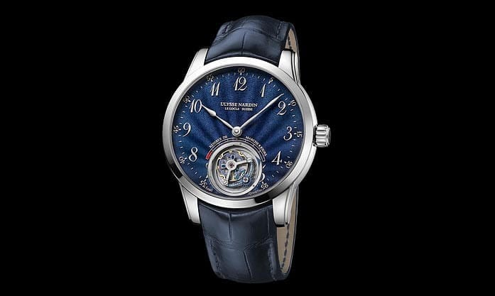 Ulysse Anchor Tourbillon Blue Emmel limited edition wristwatch. Source: http://www.ulysse-nardin.com/