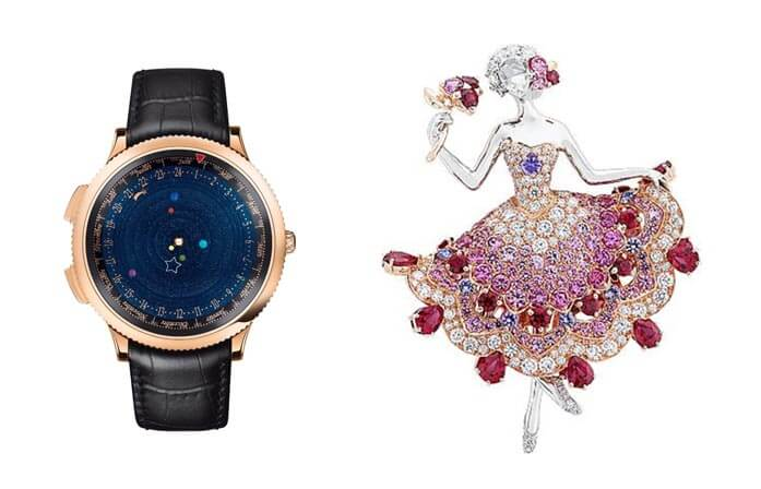 Midnight Planétarium Poetic Complication by Van Cleef & Arpels_Van Cleef & Arpels Lolanta ballerina brooch