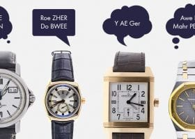 Luxury Watch Brands We've Been Saying All Wrong