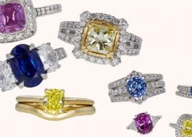 Colored Rings Auctioned at Worthy