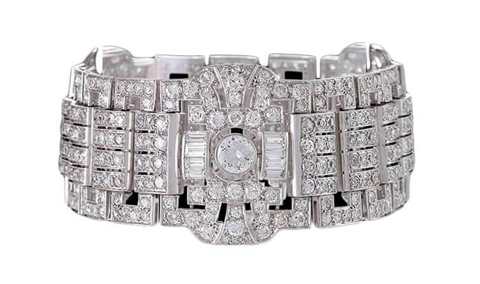 Art_Deco_diamond_flexible_bracelet
