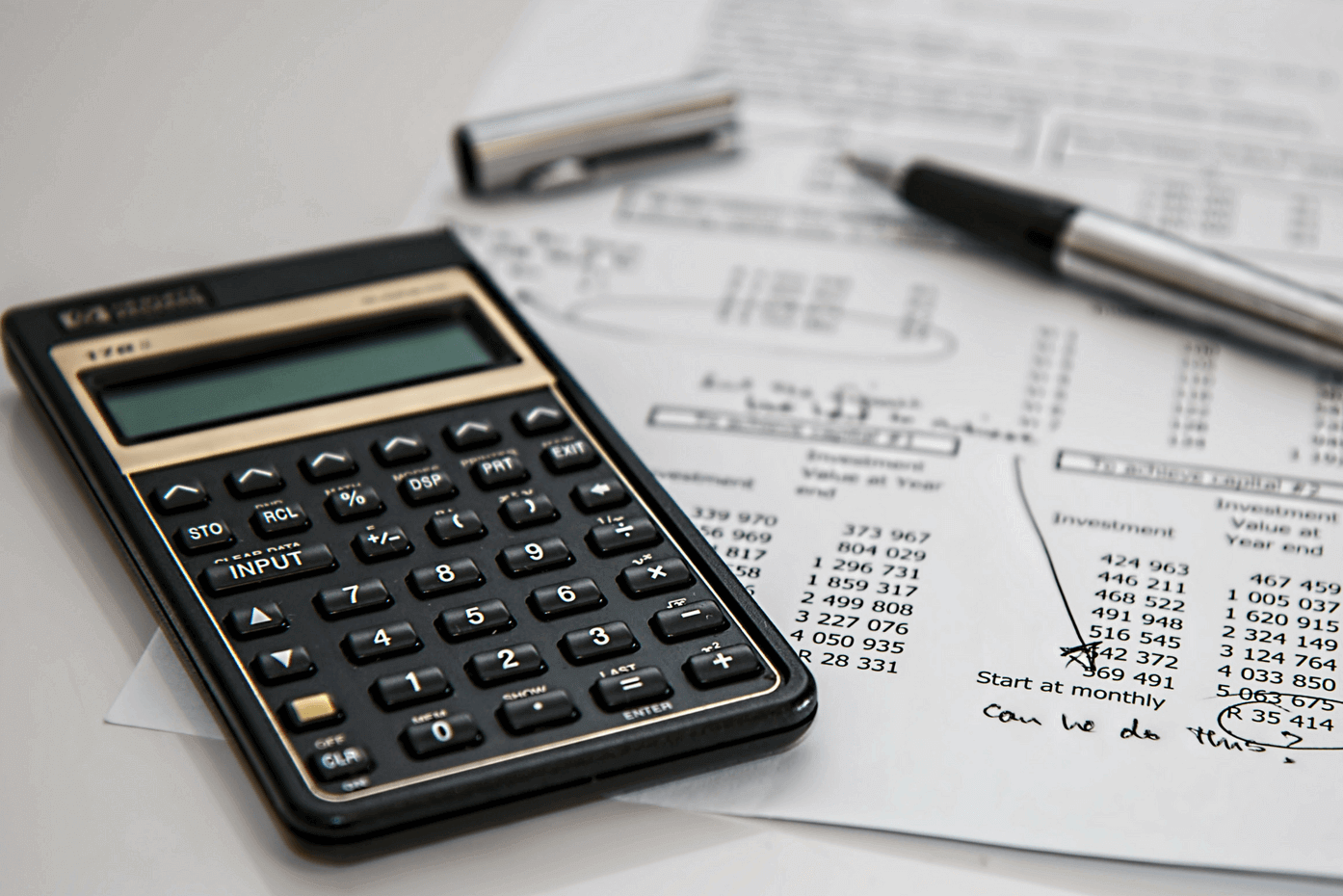 Splitting of Assets - calculating Costs to Expect