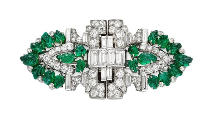 emerald_diamond_brooch