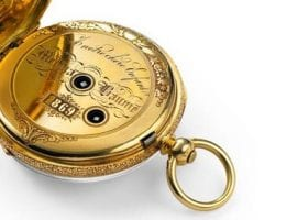 Luxury Watch Brands With History - baume et mercier pocketwatch
