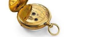 baume et mercier pocketwatch