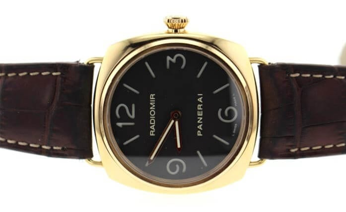 Panerai watch auctioned at Worthy.