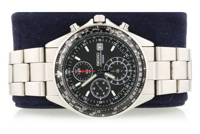 Seiko watch auctioned at Worthy.