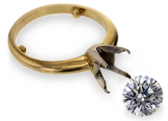 GIA 1.45 CT Round Cut Solitaire Ring Sold at Worthy.