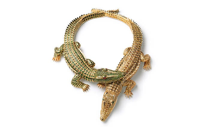 Crocodiles Necklace, Cartier Pars, Commissioned in 1975. Photo courtesy of Cartier.