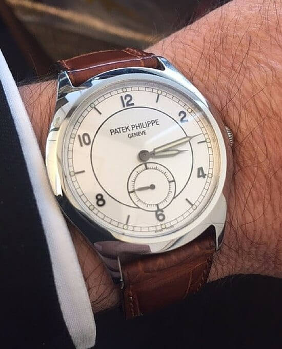 Patek Philippe Limited Edition Calatrava 5565 sold at Worthy.