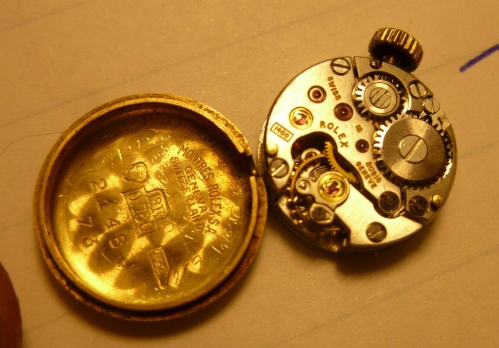 rolex watch movement