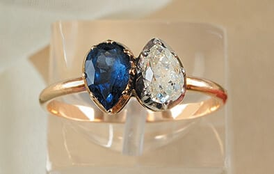 The engagement ring Napoleon gave Josephine in 1796