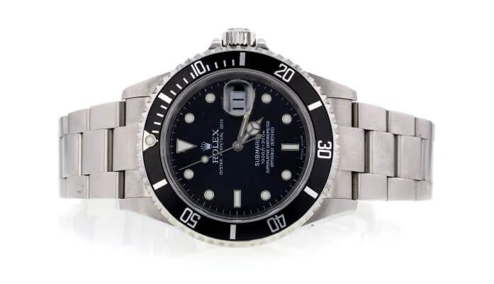 Rolex Submariner watch for investment.