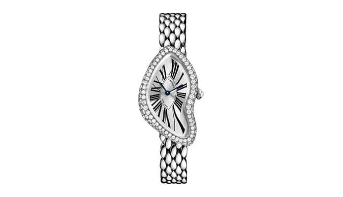 Reference WL420051. Image source: http://www.cartier.com/collections/watches/womens-watches/crash/wl420051-crash-watch.html