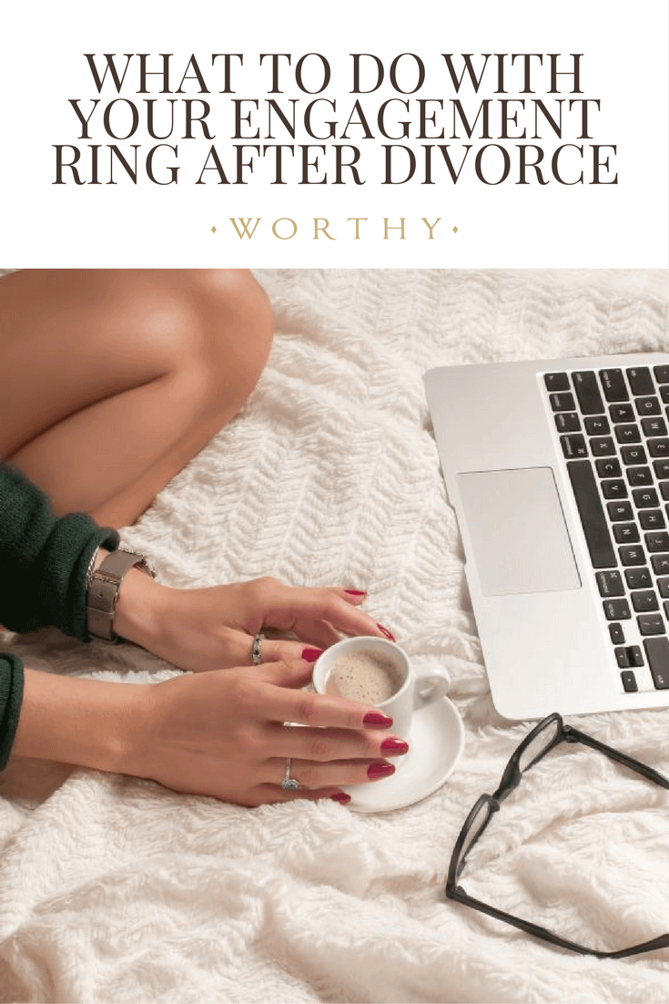 Wondering what to do with your old engagement ring after divorce? Keep, sell or give your engagement ring back after a breakup? Click here to read more