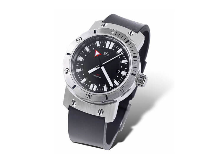 UTS München 1000 GMT Dive Watch. Source: utswatches.com