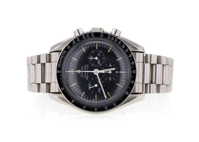 Omega Vintage Omega Speedmaster Professional Moon Watch ST-145-022 auctioned at Worthy.