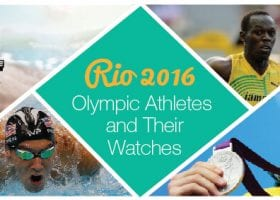 Olympic Athletes and Their Watches
