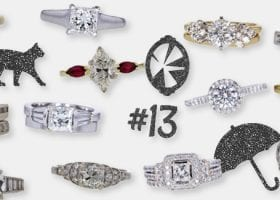 Diamond Rings Sold on the 13th