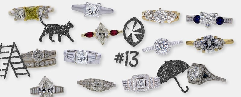 13 Lucky Diamond Rings Sold on the 13th