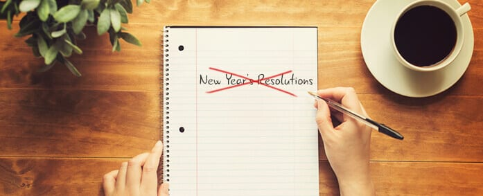 Why Making New Year's Resolutions Means Setting Yourself up for Failure