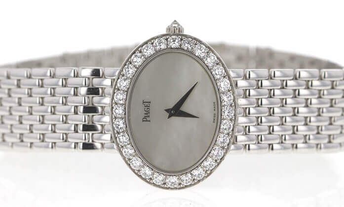 Piaget woman's watch. Photo credit: Worthy.com