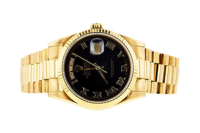 ROLEX 118238 DAY DATE K264407 SOLD AT AUCTION FOR $10,175
