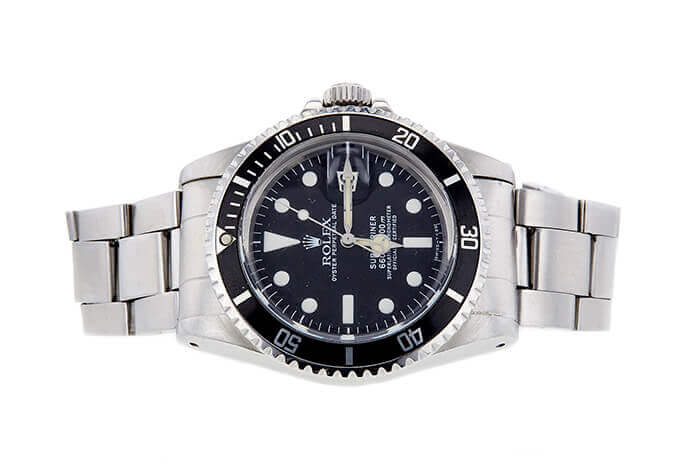 ROLEX 1680 SUBMARINER 5405484 SOLD AT AUCTION FOR $5,087